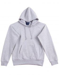 Fleecy Hoodie Womens Grey