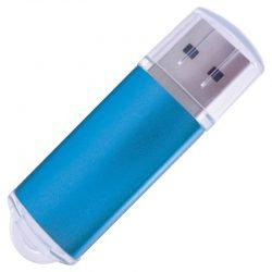 Uni Flash Drive Aqua Promotional Giveaway