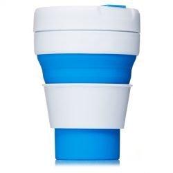 Printed Pocket Cup Blue