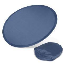 Fan with pouch blue